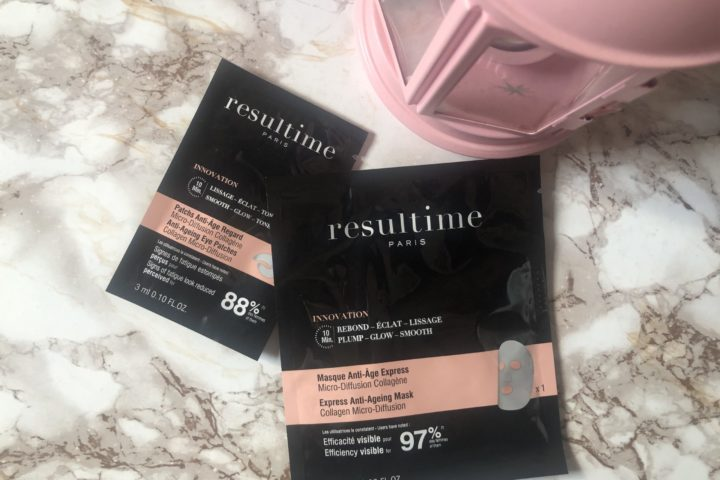 Resultime mask and eye patch con collagene per un effetto rimpolpante
