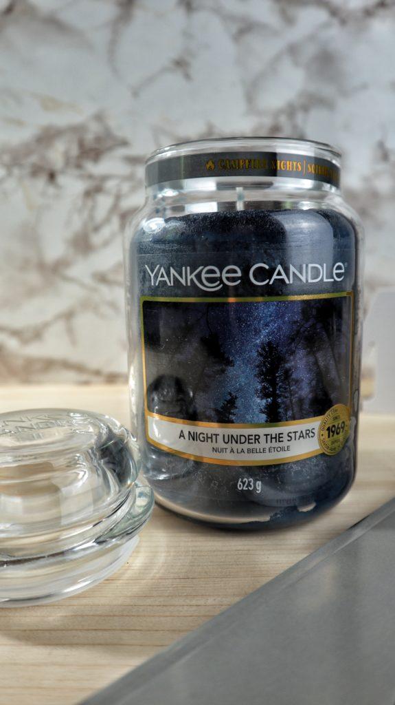 A Night under the stars: la nuova fragranza di Yankee Candle