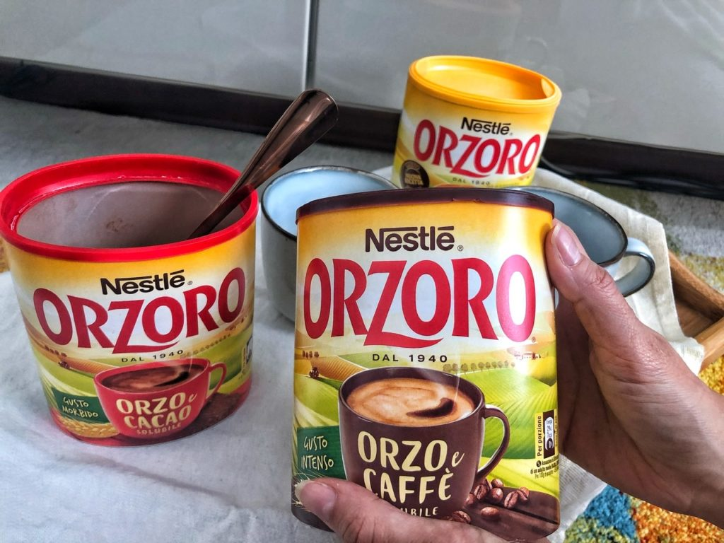 Varietà Orzoro: ad ognuno la sua speciale bevanda