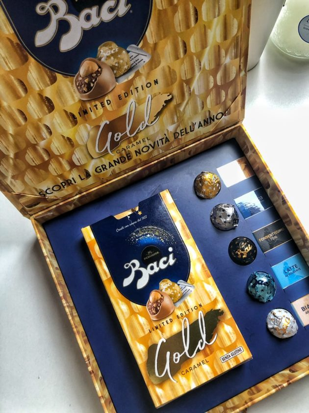 Gold Caramel: il nuovo e in limited edition Bacio Perugina