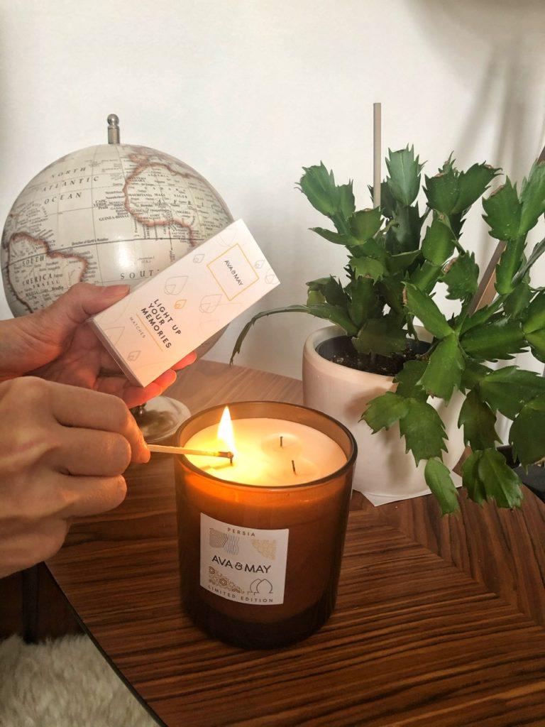 Candele ava & May, Cosa fare per viaggiare con la mente da casa
