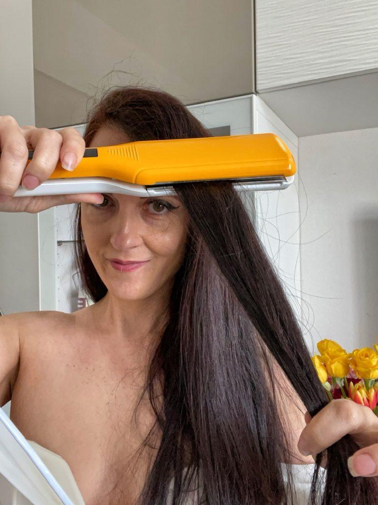 Come usare la piastra per capelli in modo corretto in solo 7 step