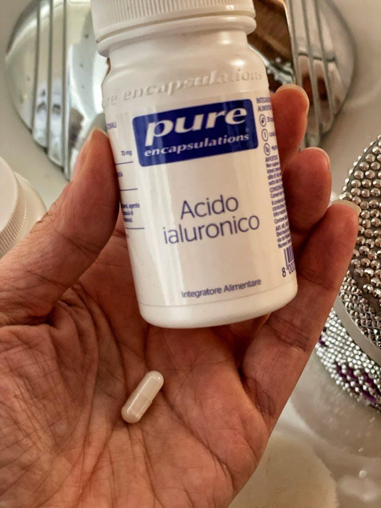 Integratori beauty: acido ialuronico e Bromelina di Pure Encapsulations