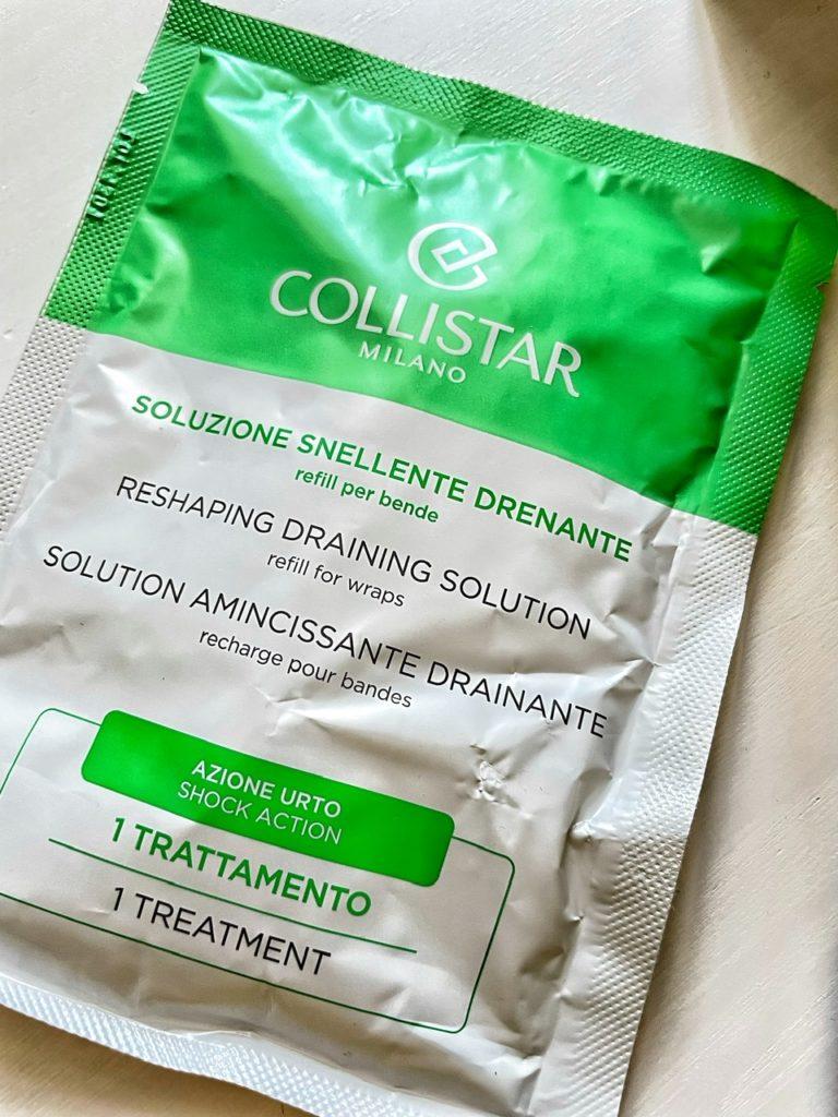 Migliori bende snellenti drenanti azione urto di Collistar (efficacia immediata)