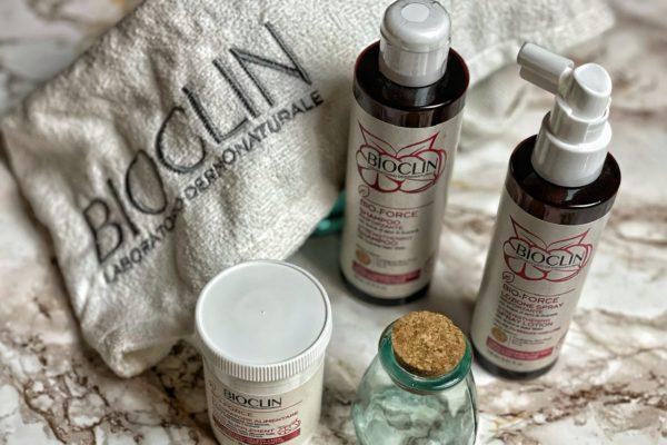 Linea Strengthening BIO-FORCE Bioclin per capelli forti, sani e rivitalizzati