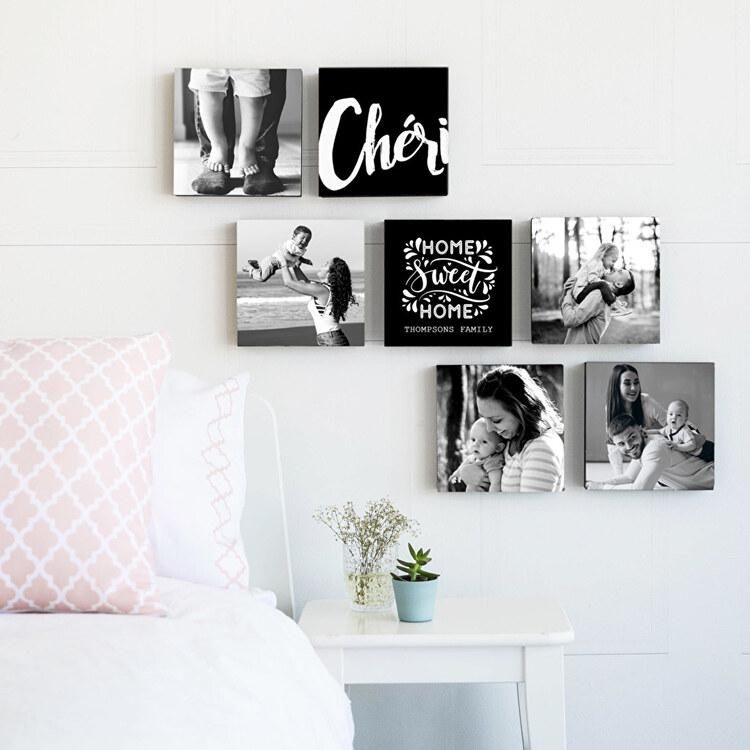 Casa accogliente? Decorare le pareti con foto, illuminazione corretta e mobili originali