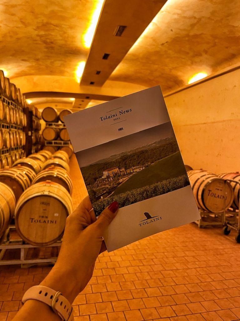 Tolaini: degustazioni di vini raffinati, strutturati e con un tocco glamour