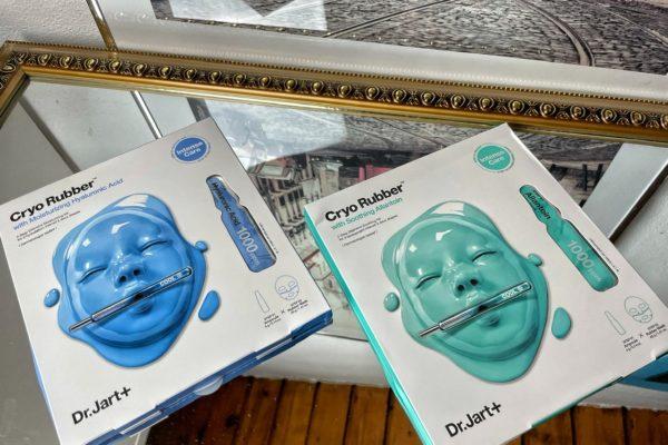 Cryo Rubber: maschere con acido ialuronico e con allantoina lenitiva